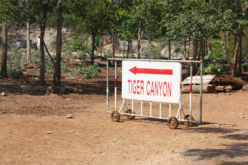 This way to the Tiger Canyon