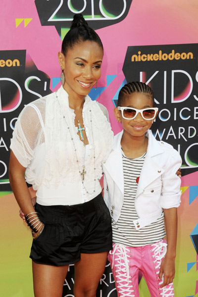 will smith kids photos. Willow Smith and Will Smith