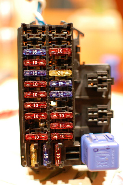fuse and relay box