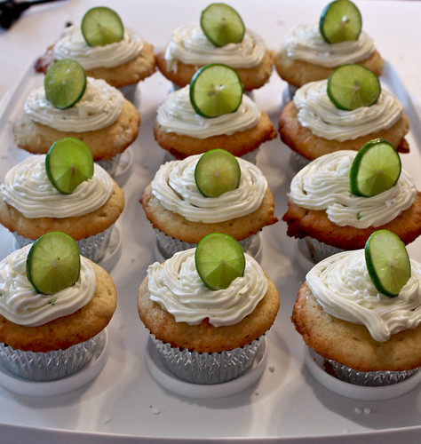 coconut lime cupcake tray