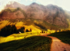 ...and there was light (ceca67) Tags: light sun landscape switzerland mount ceca coth worldsartgallery