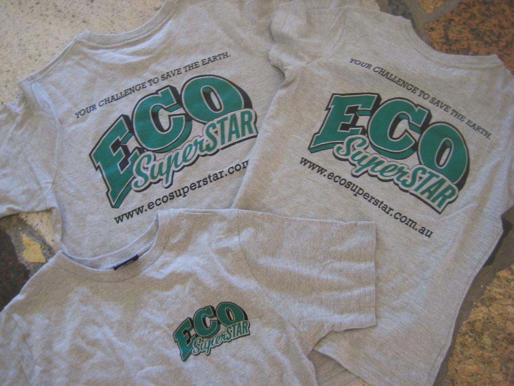 Eco Superstar teeshirts