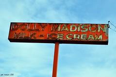 Goodbye Dolly (pam's pics-) Tags: city urban usa signs sign america ads us milk colorado neon ad denver icecream co dollymadison pammorris nikond5000 denverpam