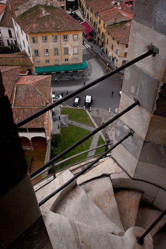 inside the Leaning Tower of Pisa [2] (by Yaisog Bonegnasher)