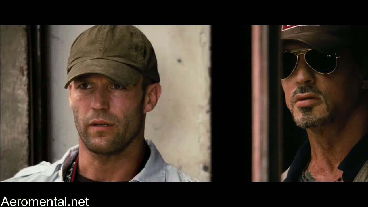 The Expendables Jason Statham Sylvester Stallone