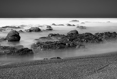 Same As It Ever Was (cah_1) Tags: blackandwhite pacificocean pointreyes californiacoast ndfilter slowwater neutraldensity canoneos50d