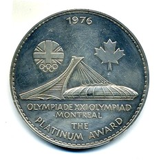 1976 British Olympic Association medal (reverse)