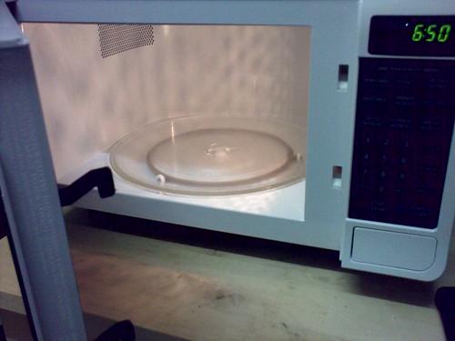 Round microwave!