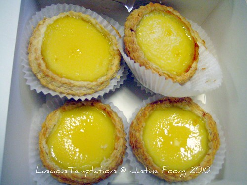 Egg Tarts - Far East Restaurant, Chinatown