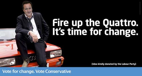 Gene Hunt vs David Cameron