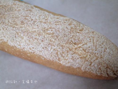 野上麵包法國棍子麵包背面