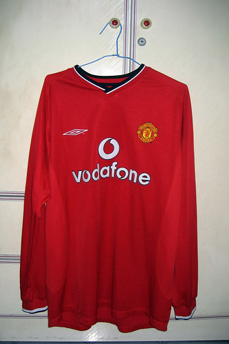 Manchester United 2000-2002 Home L/S