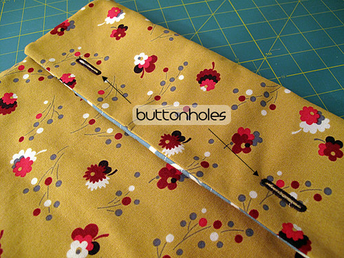 Laptop Sleeve Tutorial 11