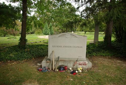 Raymond Johnson Chapman grave marker