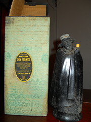 Sandeman Dry Sherry (mikepmiller) Tags: bottles antique whiskey tequila alcohol whisky distillery cellar prohibition liqueur sourmash scotchwhisky oldliquorbottles bottledinbond