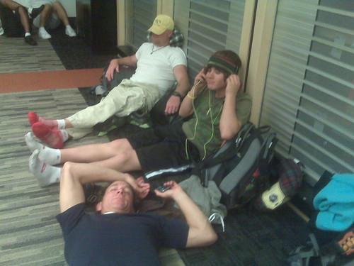 Camp LAX !