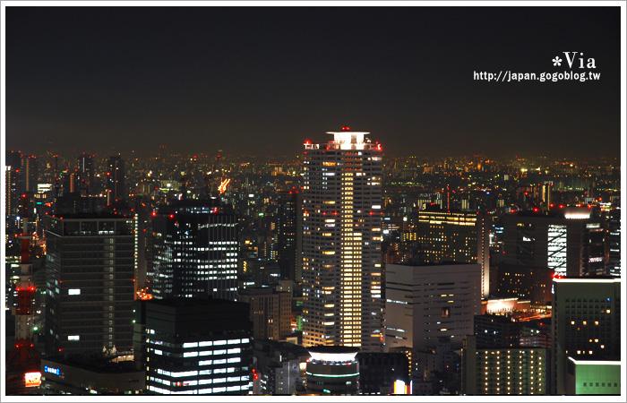 【大阪自由行】跟著via遊大阪~大阪梅田空中庭園展望台23