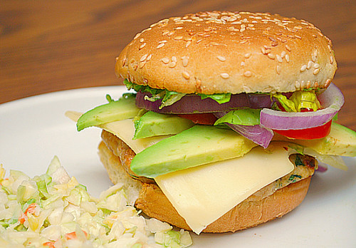 California Chicken Burgers - What's Cookin, Chicago