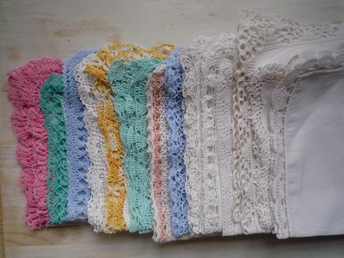 New thrifted handkerchiefs :-)
