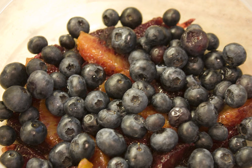 Fresh Blueberries & Blood Orange Segments