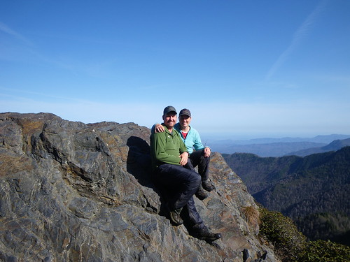 Chris & Misti on Chalies Bunion