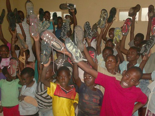 KEEN Canada - Shoe Donation to Health Partners International