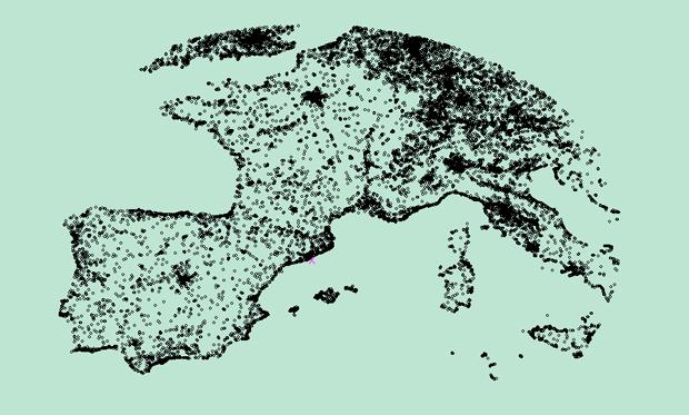 mapa-europa-oeste-hoteles