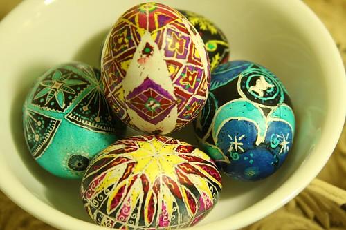 Psanky (Ukrainian Easter Eggs)
