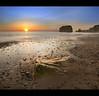"""With each sunrise, we start anew"" (i.rashid007) Tags: uk sun seascape rock sunrise northeast southshields dri sunderland marsden"