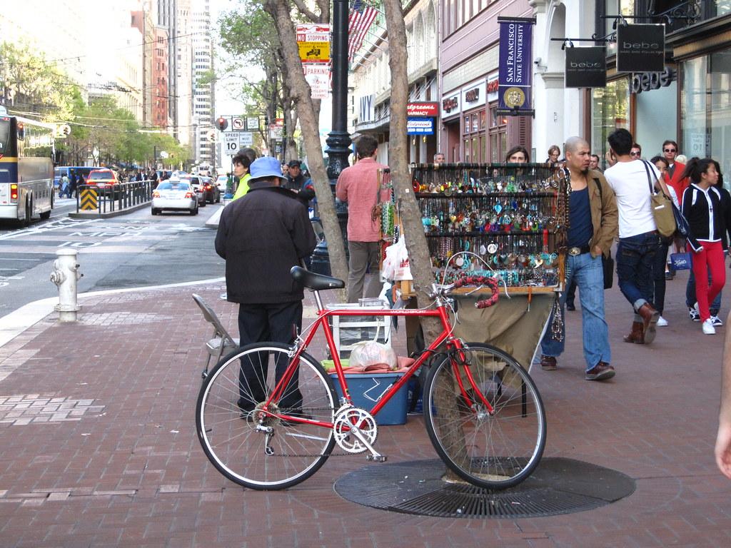 Bike & vendor