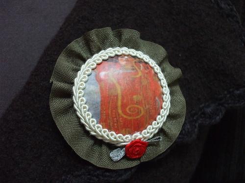 Pregadeira Klimt 002