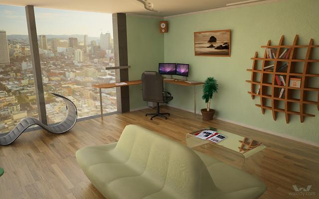 3D model of flat of my dreams. View 1