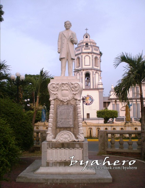 Rizal Monument in Candon City, Ilocos Sur