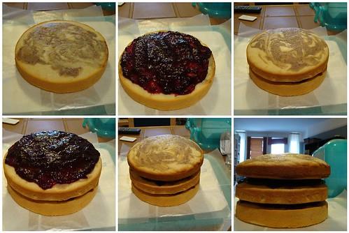 Cake Building Process