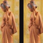 焼き物人形 crockery doll (parallel 3D) thumbnail