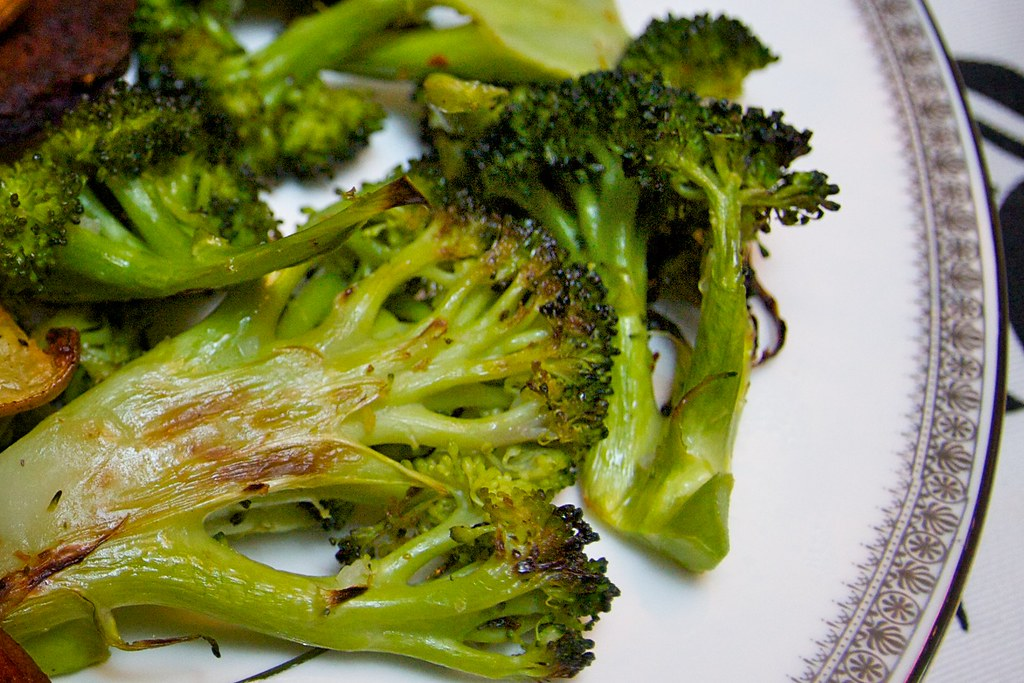 Simple Roasted Broccoli - Shutterbean