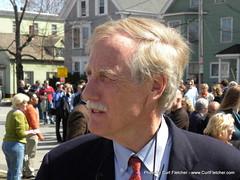 Former Maine Governor Angus King