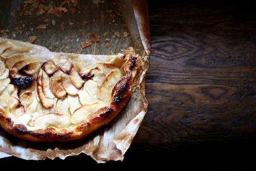 Torta sottilissima di mele