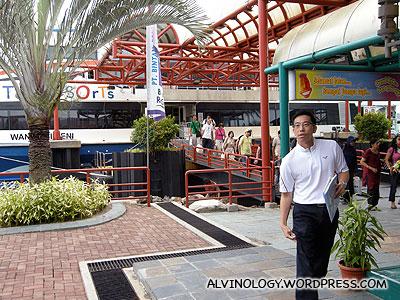 At Bintan Resorts Ferry Terminal