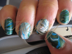 Earth Day Water Marbling 4-22-10