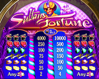 free Sultan's Fortune slot game symbols