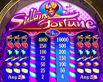 free Sultan's Fortune slot game symbols