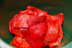 Peeled Red Peppers