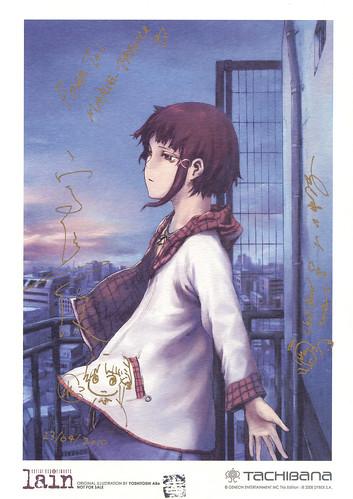 dedicace Yoshitoshi Abe & Yasuyuki Ueda