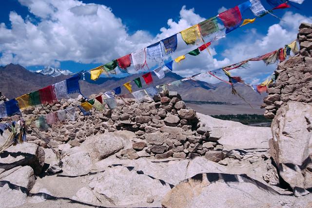 View in Shey, Ladakh
