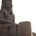 Ramses II al atardecer
