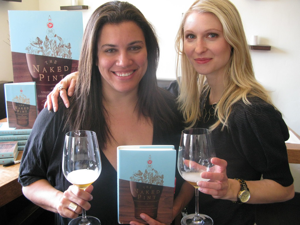 Beer Chicks: Christina Perozzi and Hallie Beaune by Caroline on Crack