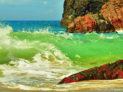 Colour Paradise (Wilamber) Tags: colourparadise red blue green brown yellow white black beige sand water waves surf rocks cornwall lizard mullion crazyheart lordwilliamchard wwwlordwilliamchardcouk lord william chard exploring interesting exploration