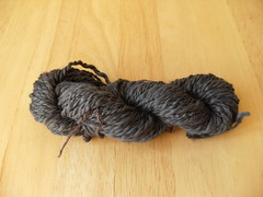 My first handspun!