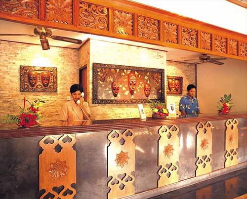 Senggigi Beach Hotel and Resort Receiption